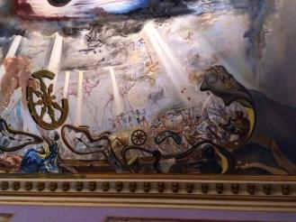 Teatro Museu Dalí teto 2