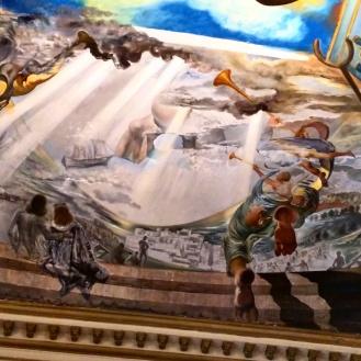 Teatro Museu Dalí teto 3