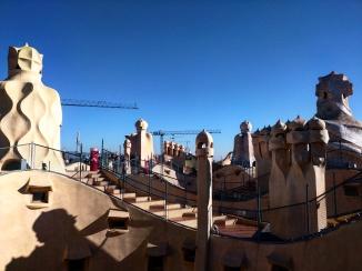 Telhado Casa Mila Barcelona 4