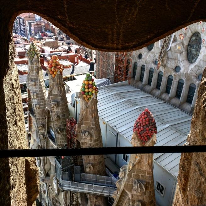 Torre Sagrada Familia Barcelona