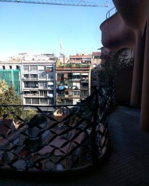 Varandas Casa Mila Barcelona