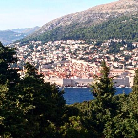 Vista para Dubrovnik Lokrum