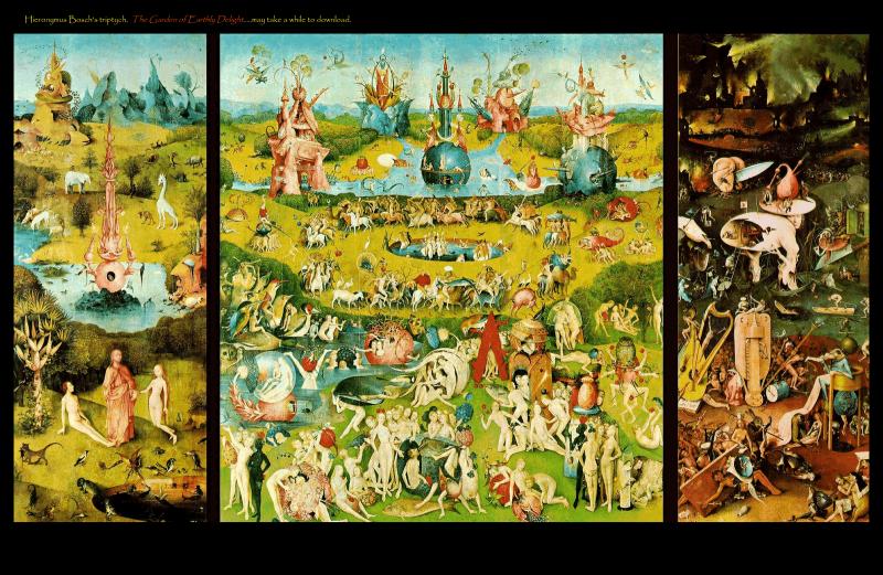 Bosch - Jardim das delícias terrenas