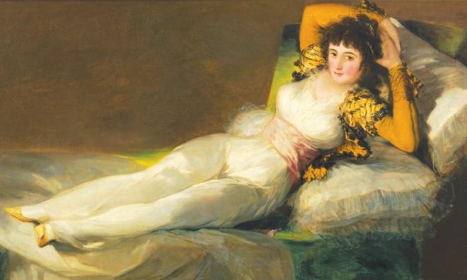 Maja vestida Goya