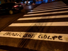 protesto na rua golpe olimpiadas rio