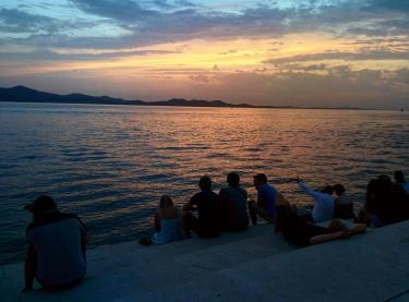 Zadar por do sol 2