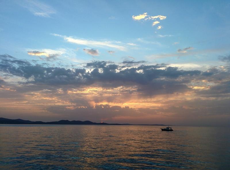 Zadar por do sol