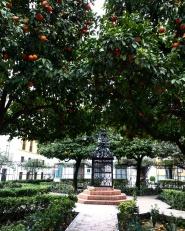 Bairro Judeu Sevilha praça santa cruz