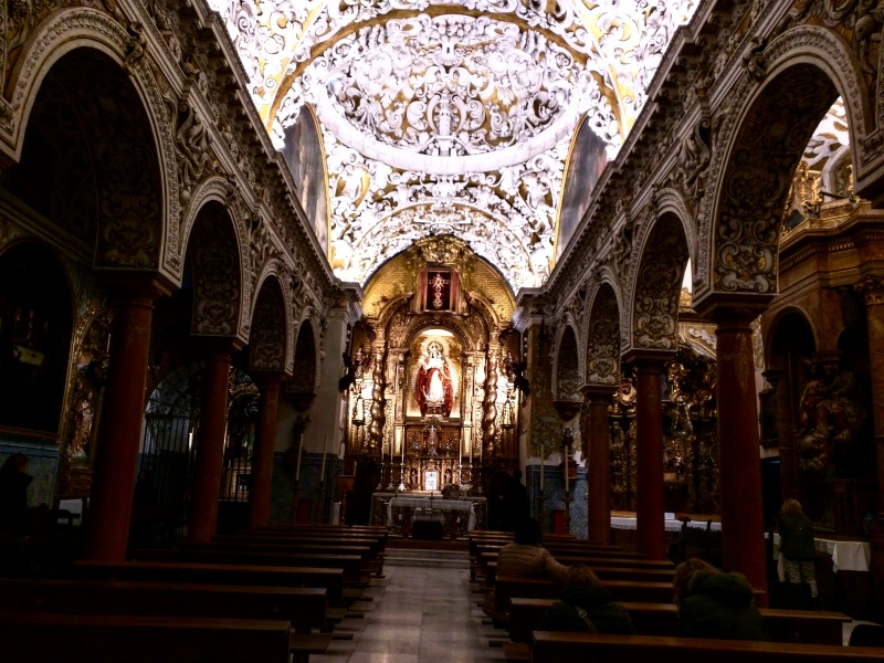 Bairro Judeu Sevilha Santa Maria la Blanca