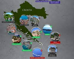 map croatia
