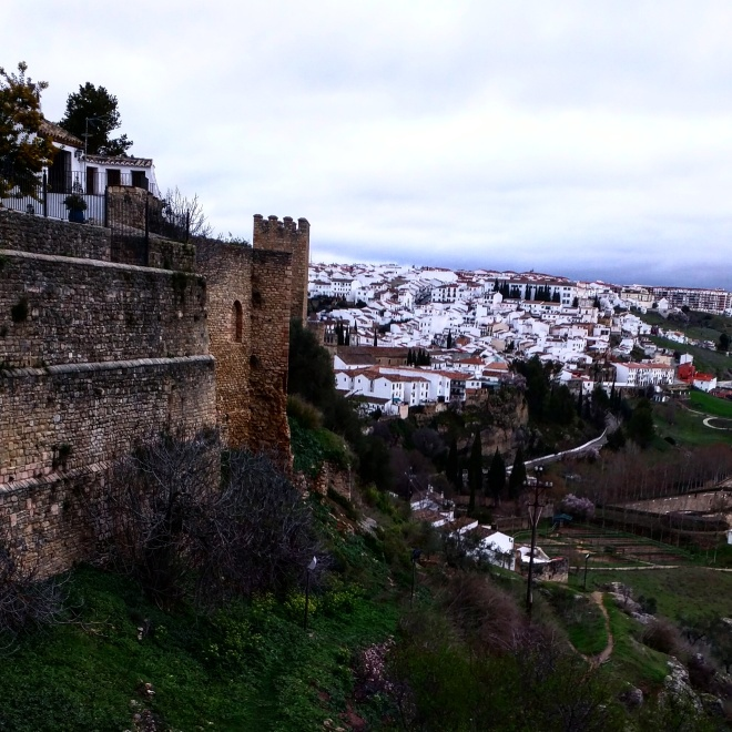 Ronda Espanha muralhas