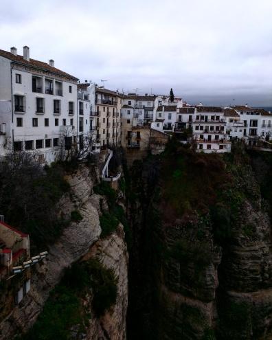 Vista do Ponte Nuevo Ronda