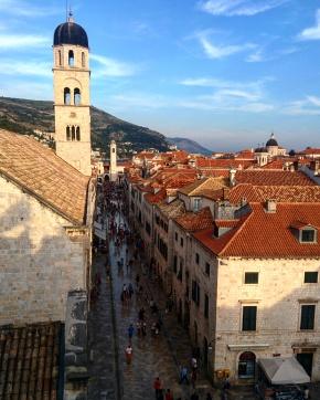 Vista muros Dubrovnik 13