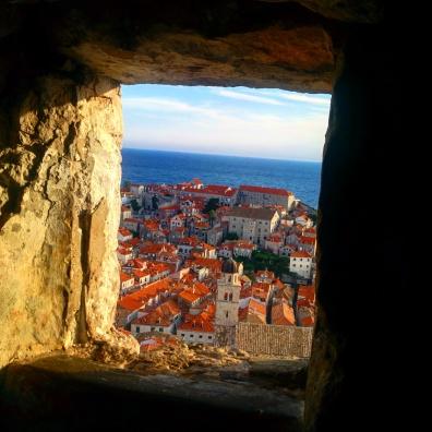 Vista muros Dubrovnik 22