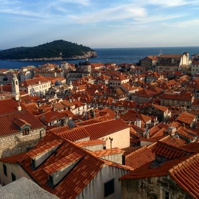 Vista muros Dubrovnik 8