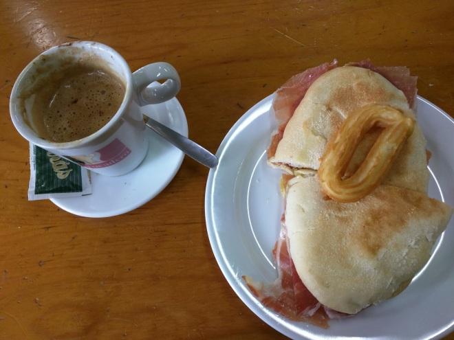 Café da manhã Andalusia