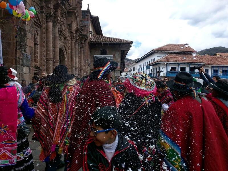 Carnaval Cusco Plaza de Armas 2