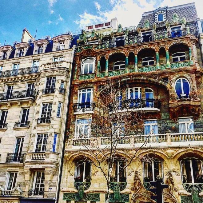 Edifício Lavirotte Art Nouveau Paris 1