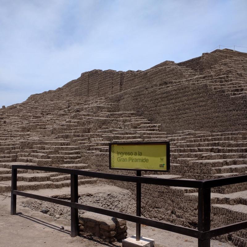 Huaca Pucllana Lima pirâmide 1
