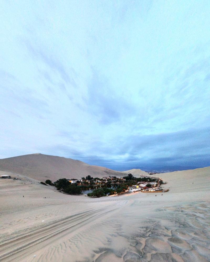 Huacachina oásis Peru 2