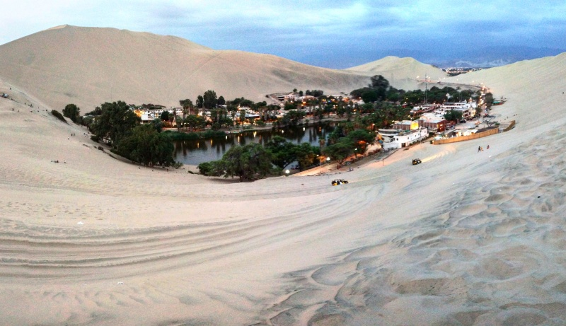 Huacachina oásis Peru 3