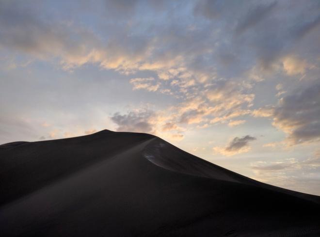 Huacachina oásis Peru por do sol no deserto 4