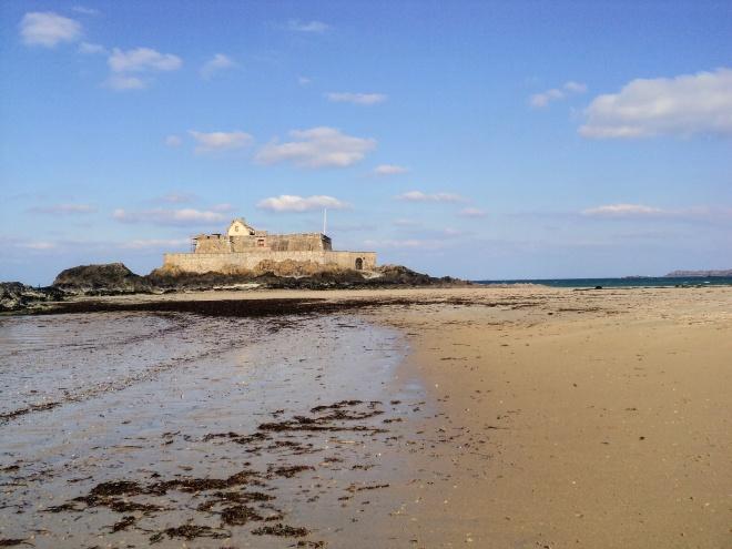 Ile du Grand Be de manhã St. Malo