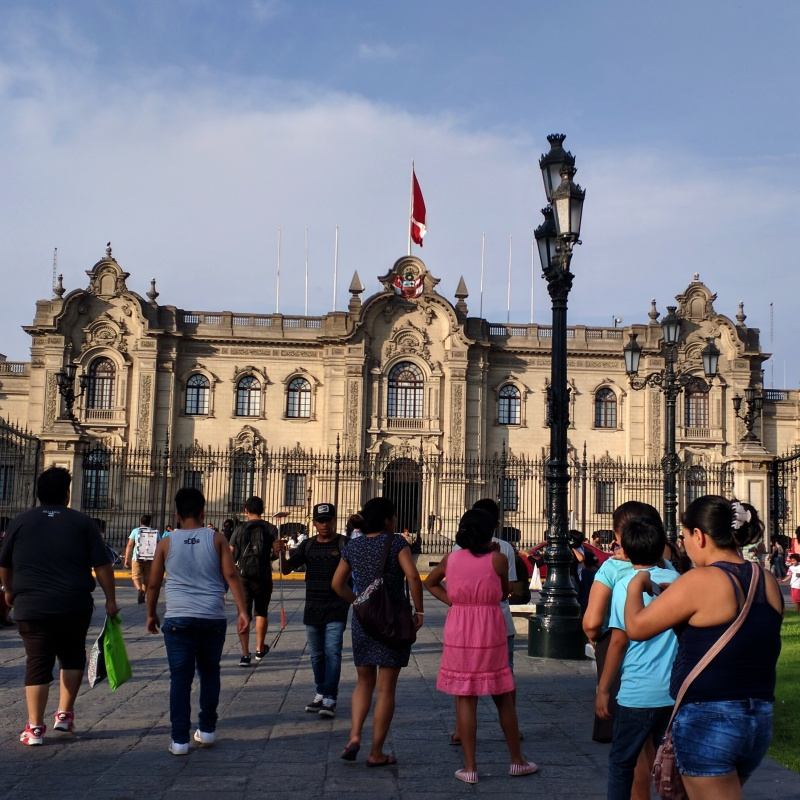 Lima palacio presidencial