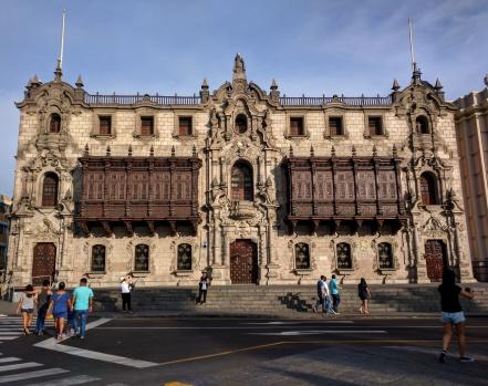 Lima palácio do arquebispo