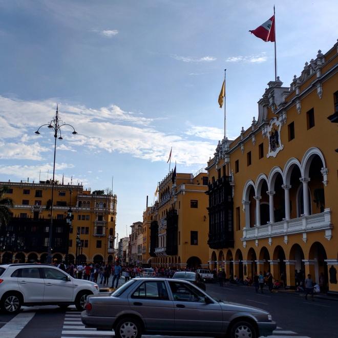 Lima praça principal