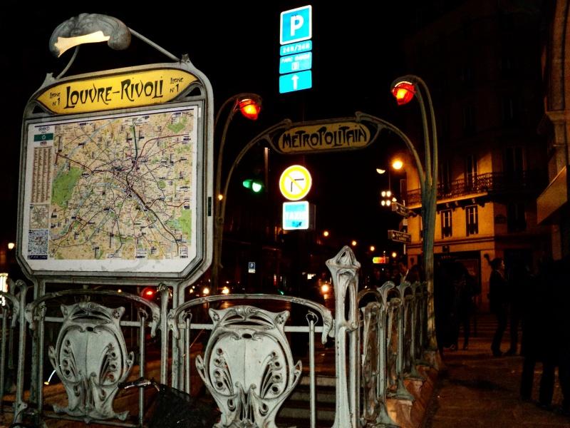 Metro Art Nouveau Paris