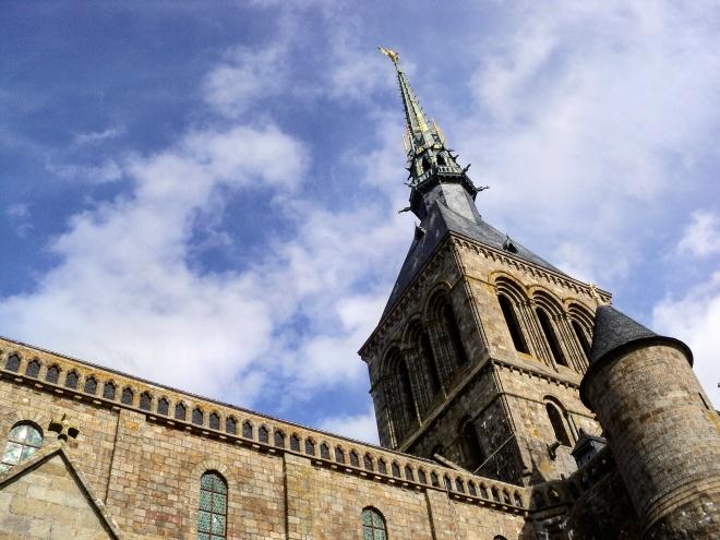 Mont Saint Michel arcanjo