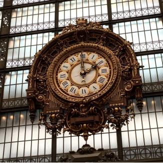 Museu d'Orsay Paris Relógio 2