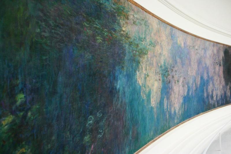 Ninféias Monet L'orangerie 1