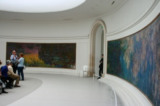 Ninféias Monet L'orangerie 3
