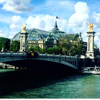 Ponte Alexandre III e Grand Palais Art Nouveau Paris