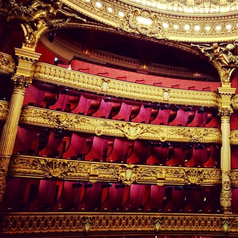 Camarotes Opera Garnier Paris