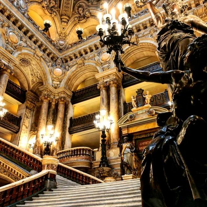 Escadaria Opera Garnier Paris