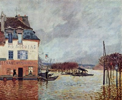 Flood at Port Marly Alfred Sisley