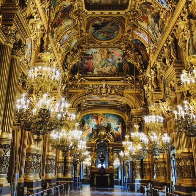 Interior Opera Garnier Paris