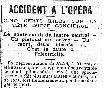journal accident opera
