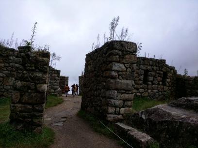 Machu Picchu caminho para o Templo do Sol 1