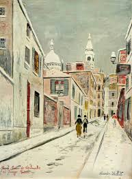 Maurice Utrillo Sacre Coeur