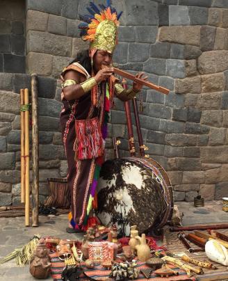 Música inca tradicional Cusco