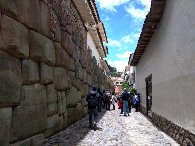 Muros incas em Cusco 1