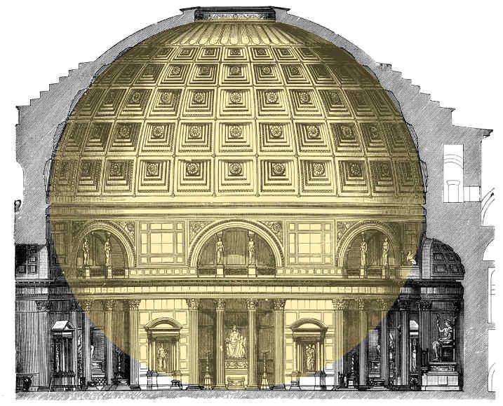 Sphere-inside-pantheon