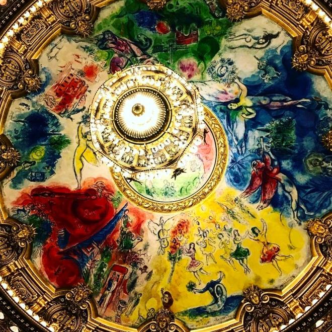 Teto Chagall Opera Garnier Paris