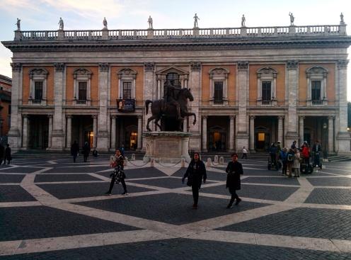 Campidoglio praças de Roma 3