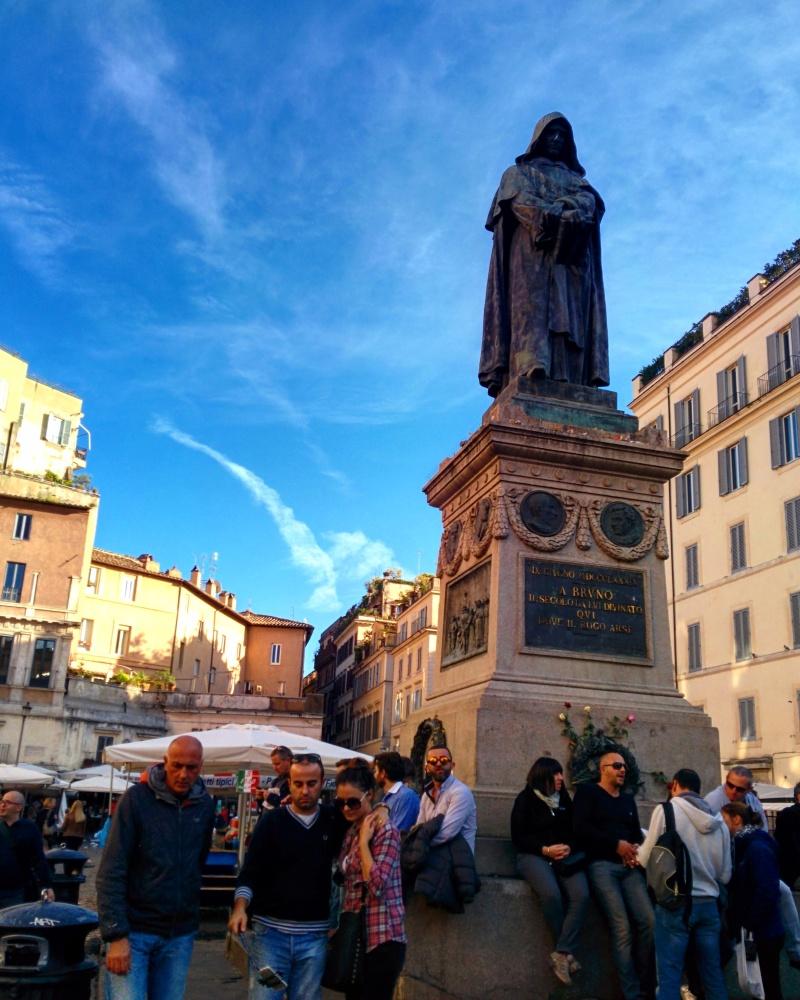 Campo de Fiori praças de Roma 2
