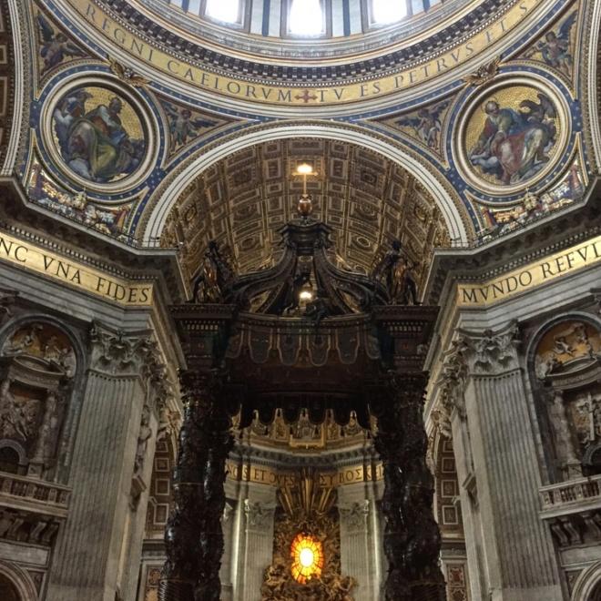 Interior Basílica São Pedro